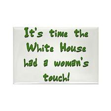 White House 5 Rectangle Magnet