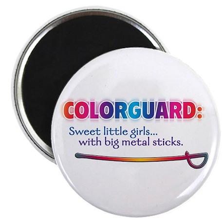"""Sweet Girls / Big Metal Sticks 2.25"""" Magnet (10 pa"""