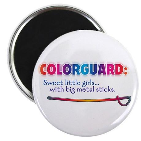 Sweet Girls / Big Metal Sticks Magnet