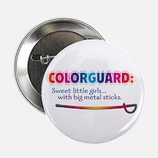 """Sweet Girls / Big Metal Sticks 2.25"""" Button (10 pa"""