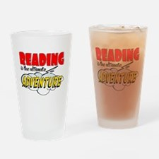 Reading Adventure Drinking Glass