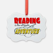 Reading Adventure Ornament