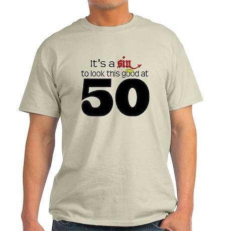 Look Good 50 Birthday Light T-Shirt