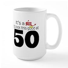 Look Good 50 Birthday Mug