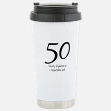 50th Birthday Disguise Travel Mug