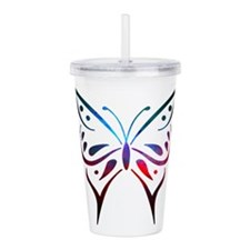 Cute Colored Acrylic Double-wall Tumbler