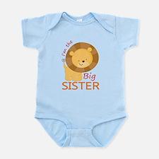 Big Sister Cute Lion Infant Bodysuit