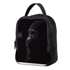 Cute Gorilla Neoprene Lunch Bag