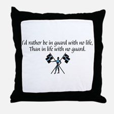 I'd Rather... Throw Pillow