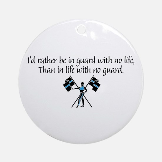 I'd Rather... Ornament (Round)