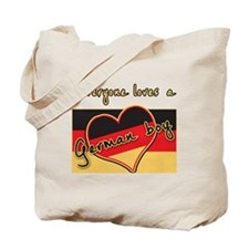 Everyone Loves a German Boy Tote Bag
