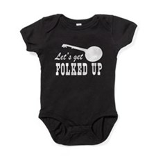 Let's Get Folked Up Baby Bodysuit