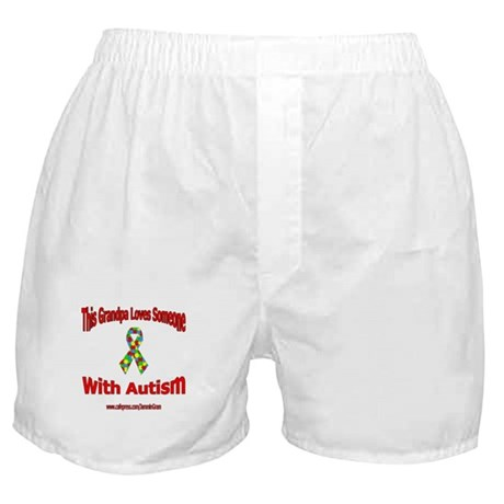 Autistic Pride Grandfather Boxer Shorts