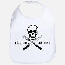 Play Hard Eat Hard Bib