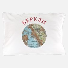 Soviet map of Berkeley Pillow Case