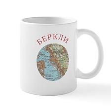 Soviet map of Berkeley Mugs