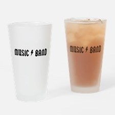 Music Band Drinking Glass
