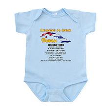 baseball terms Infant Bodysuit