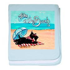 Scottie Beach baby blanket