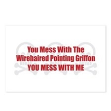 Mess With Griffon Postcards (Package of 8)
