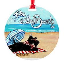 Scottie Beach Ornament