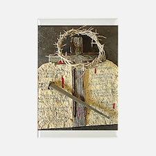 10 Commandments & CrossRectangle Magnet (10 pack)