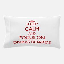 Funny Calm dive Pillow Case