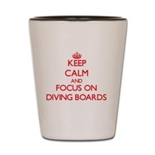 Cute Calm dive Shot Glass