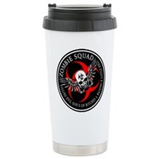 Zombie Squad 3 Ring Patch Revised.png Travel Mug