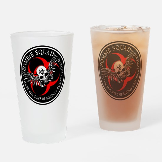 Zombie Squad 3 Ring Patch Revised.png Drinking Gla
