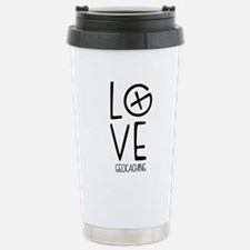 Geocaching Love Travel Mug