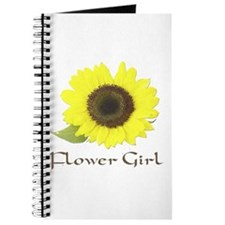 Sunflower Flower Girl Journal
