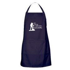 Lifes Better When Youre Geocaching Apron (dark)