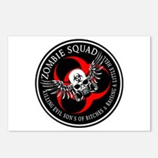 Zombie Squad 3 Ring Patch Revised.png Postcards (P