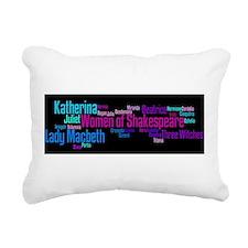 Funny Lady macbeth Rectangular Canvas Pillow