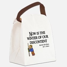 Now is the Winter of Our Disconte Canvas Lunch Bag