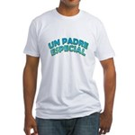 Un Padre Especial Fitted T-Shirt