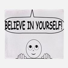 Cool Positive message Throw Blanket