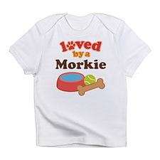 Morkie Dog Infant T-Shirt