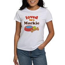 Morkie Dog Tee