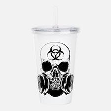 Biohazard Zombie Skull.png Acrylic Double-wall Tum