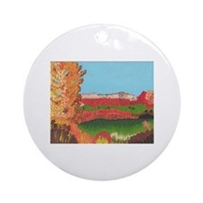 Ghost Ranch, NM  Ornament (Round)