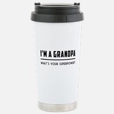 I'm a grandpa what's your superpower? T-shirts Tra