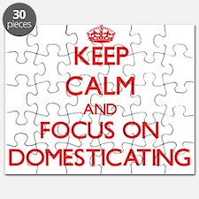 Cute Keep calm up Puzzle