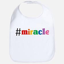 Hashtag Miracle Bib