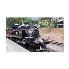 Puffing Billy Historic Steam Rectangle Car Magnet