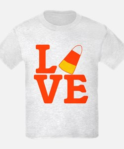 Halloween Love Candy Corn T-Shirt