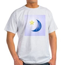 Once in a Blue Moon with Yellow Star T-Shirt