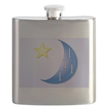 Once in a Blue Moon Flask