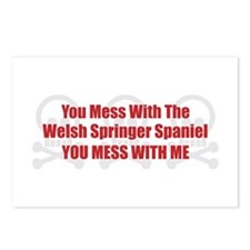 Mess With Welshie Postcards (Package of 8)
